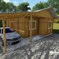 modelo de casa de madeira 2 quartos pop 2.0