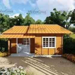 modelo de casa de madeira 2 quartos palhoça