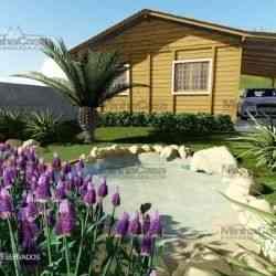 modelo de casa de madeira 4 quartos pop 4.0
