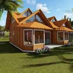 modelo de casa de madeira 4 quartos tijucas II