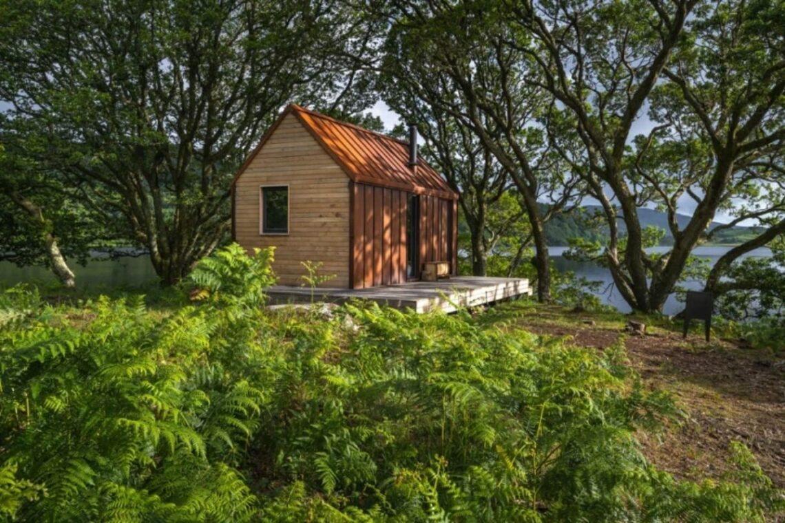 tiny house cercada pela natureza 1
