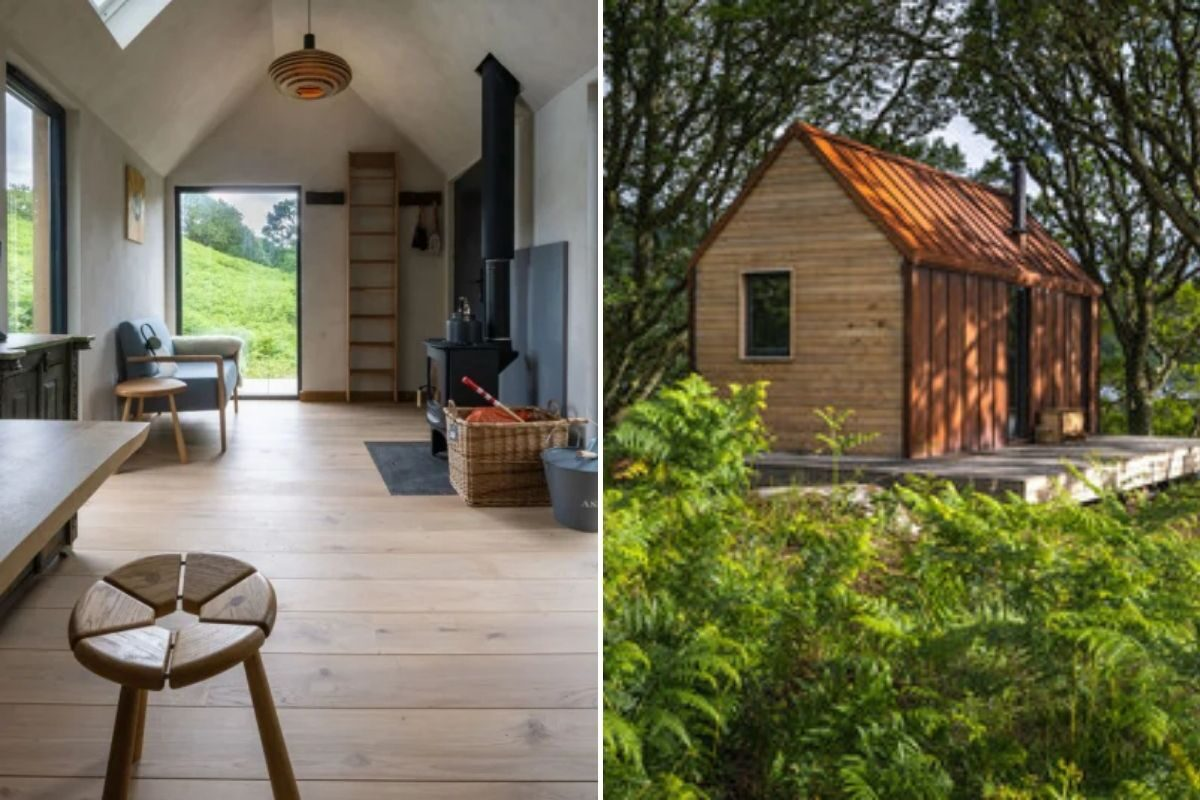 tiny house cercada pela natureza 7