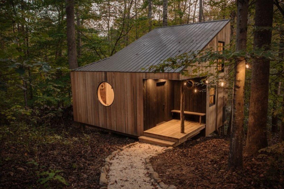 tiny house de madeira artesanal foto 1