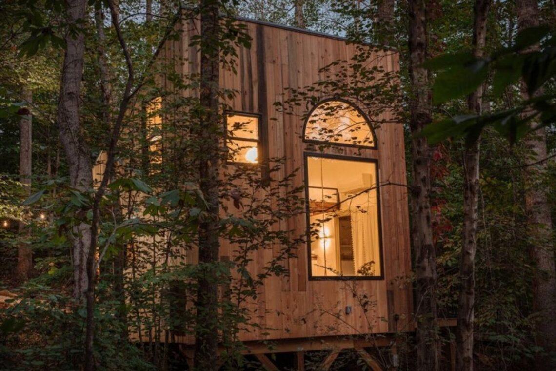 tiny house de madeira artesanal foto 2