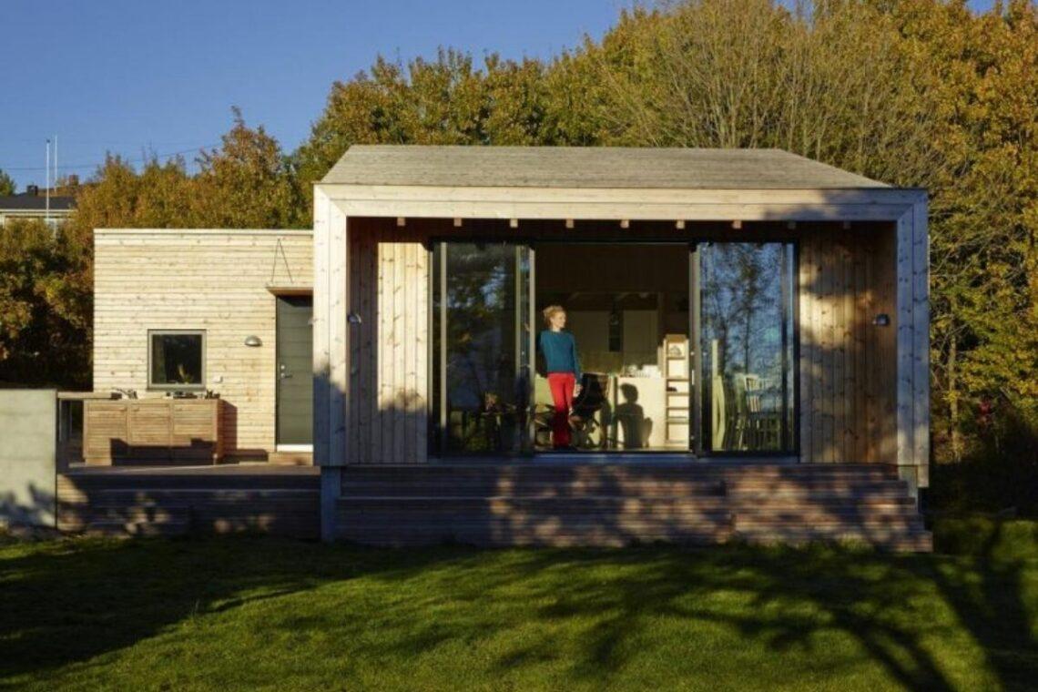 cabana de madeira prova que tamanho não é documento foto 1