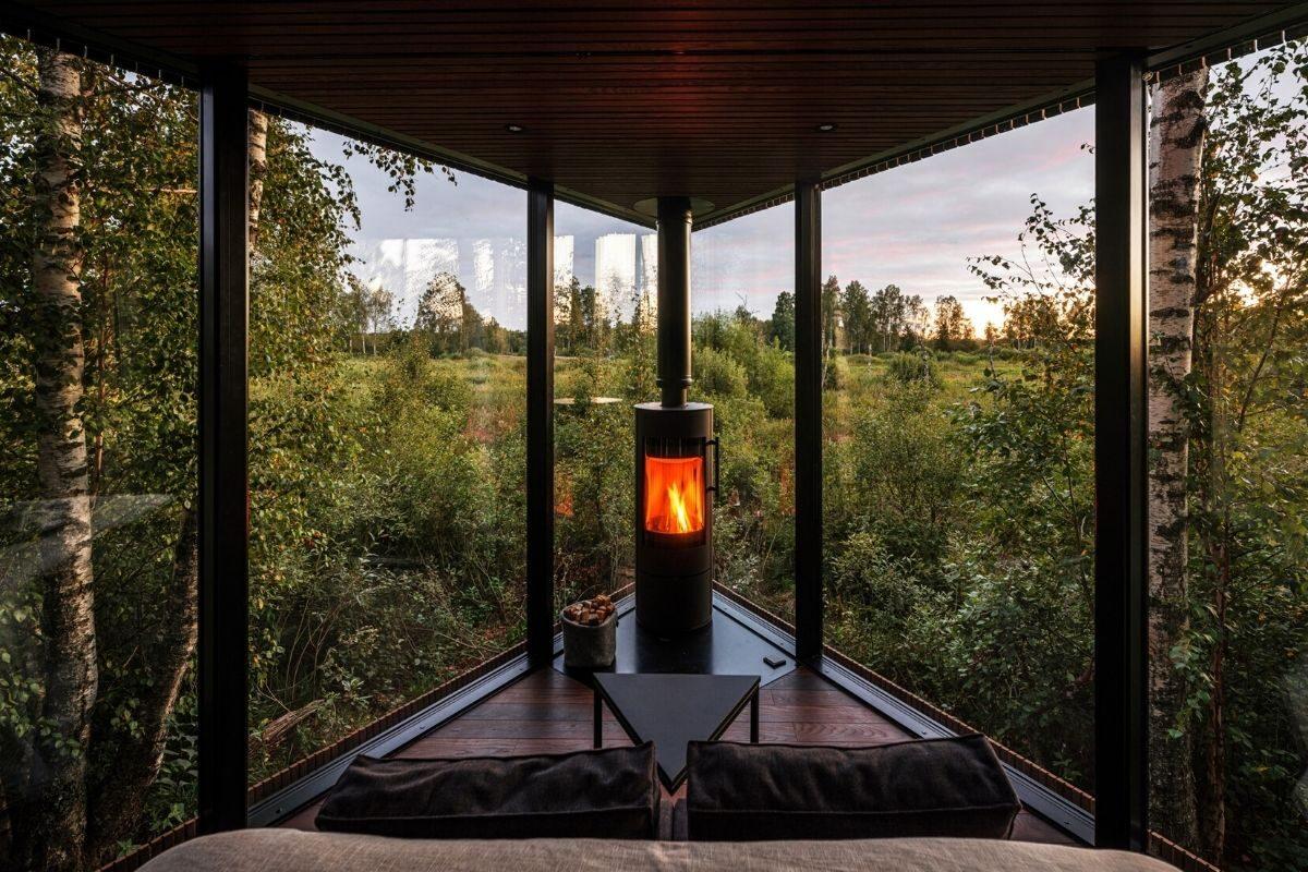 cabana de madeira terraço b210 maidla nature villa foto 3