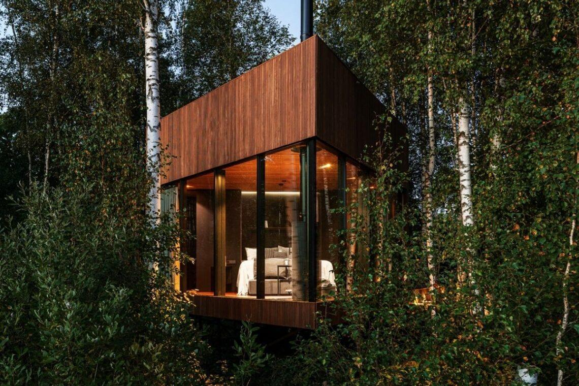 cabana de madeira terraço b210 maidla nature villa foto 4
