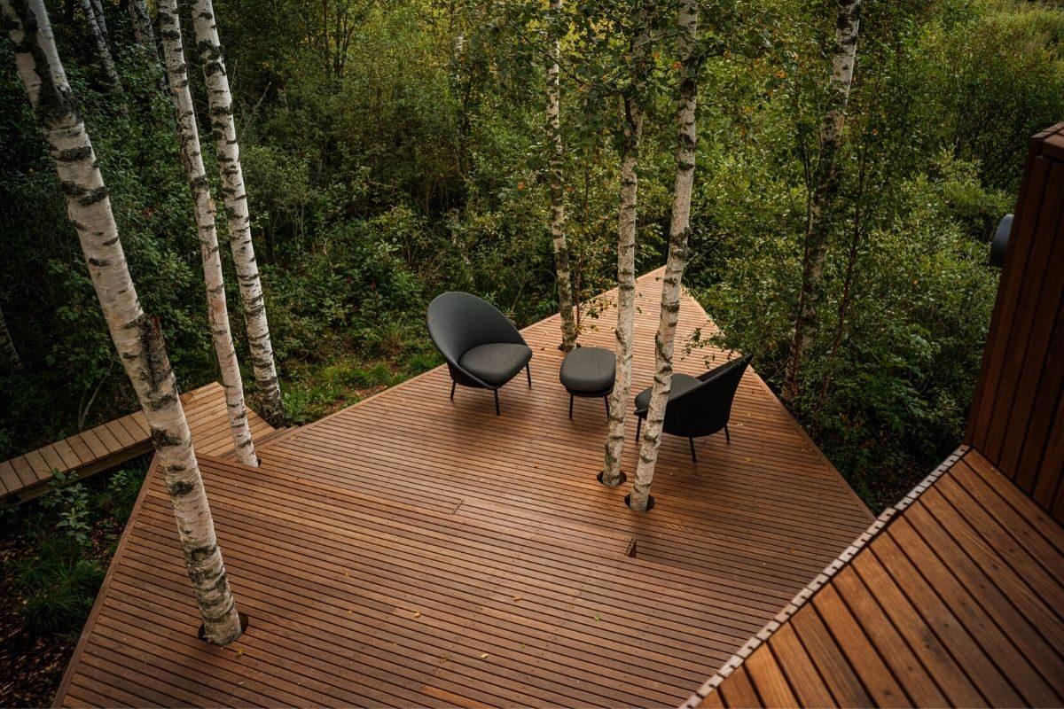 cabana de madeira terraço b210 maidla nature villa foto 6