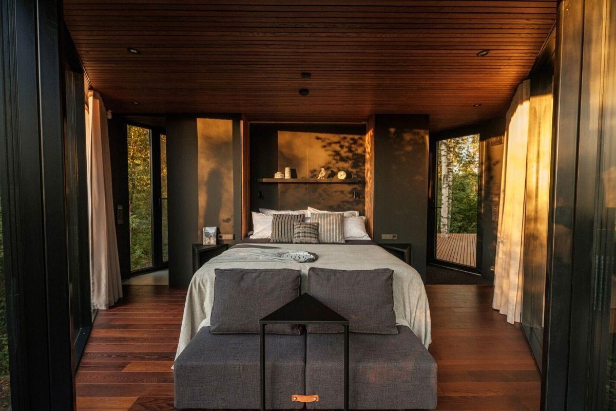 cabana de madeira terraço b210 maidla nature villa foto 8