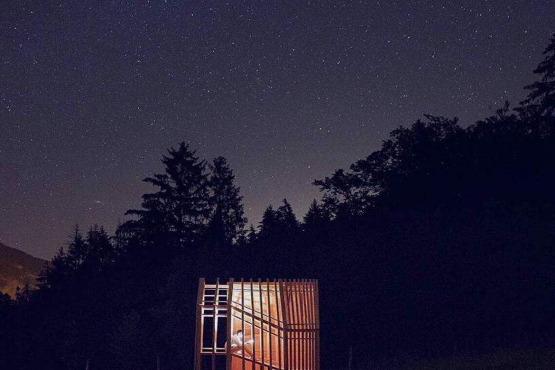 cabana observatório