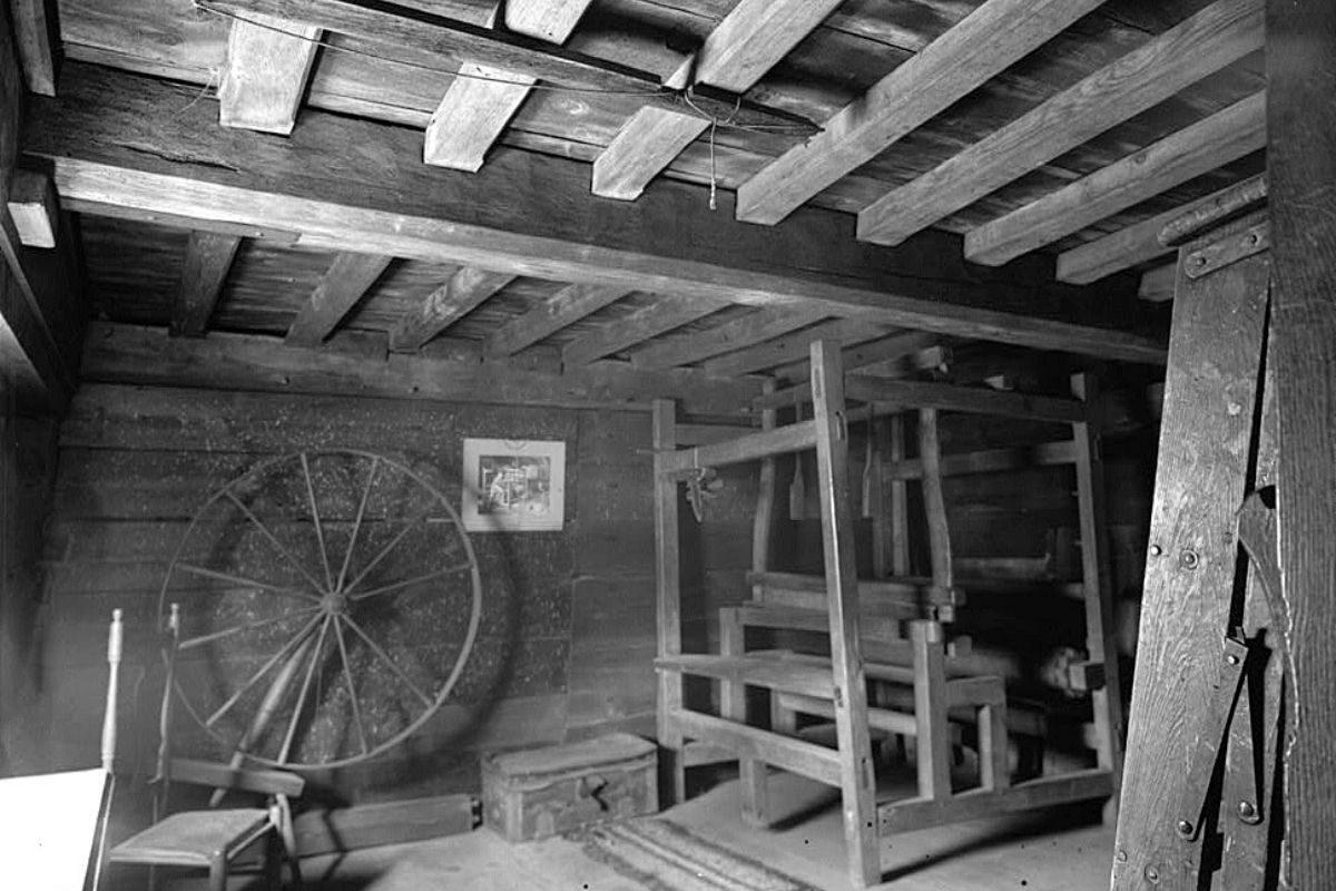 casa de madeira antiga Fairbanks House foto 1