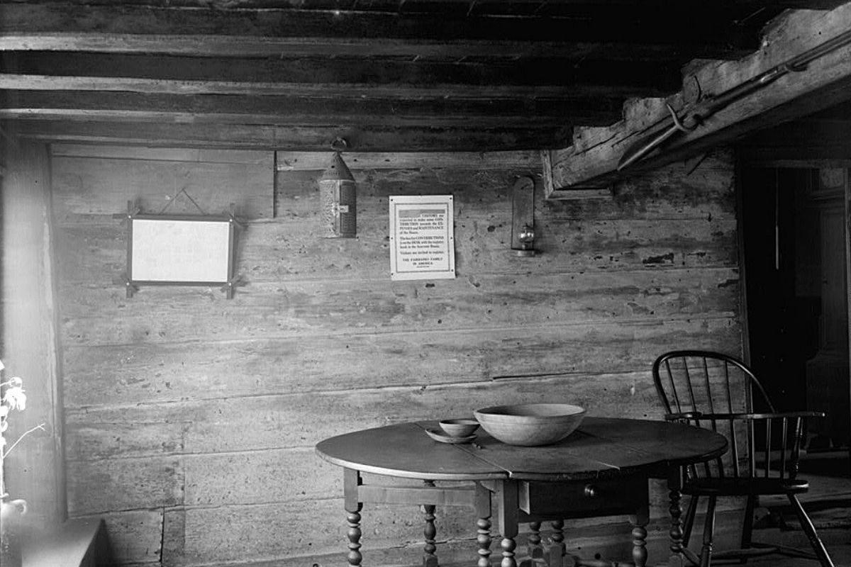 casa de madeira antiga Fairbanks House foto 2