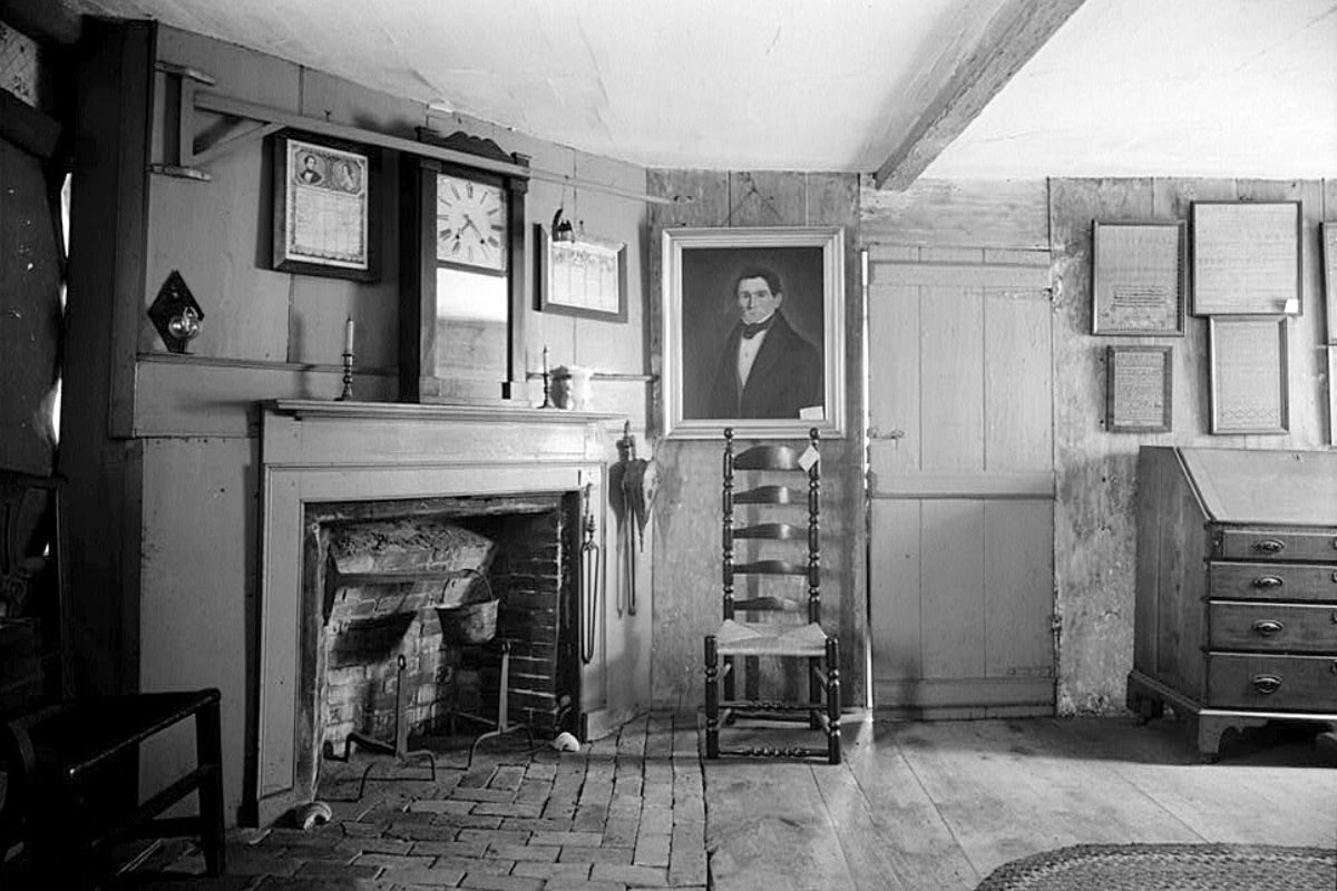 casa de madeira antiga Fairbanks House foto 3