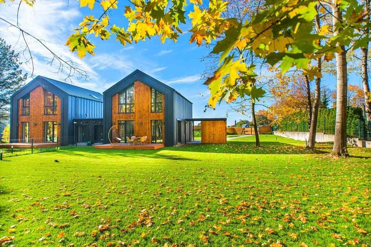 casa de madeira pronta