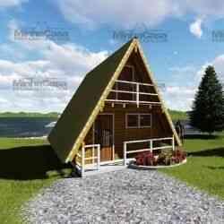 sobrado de madeira modelo pomerode
