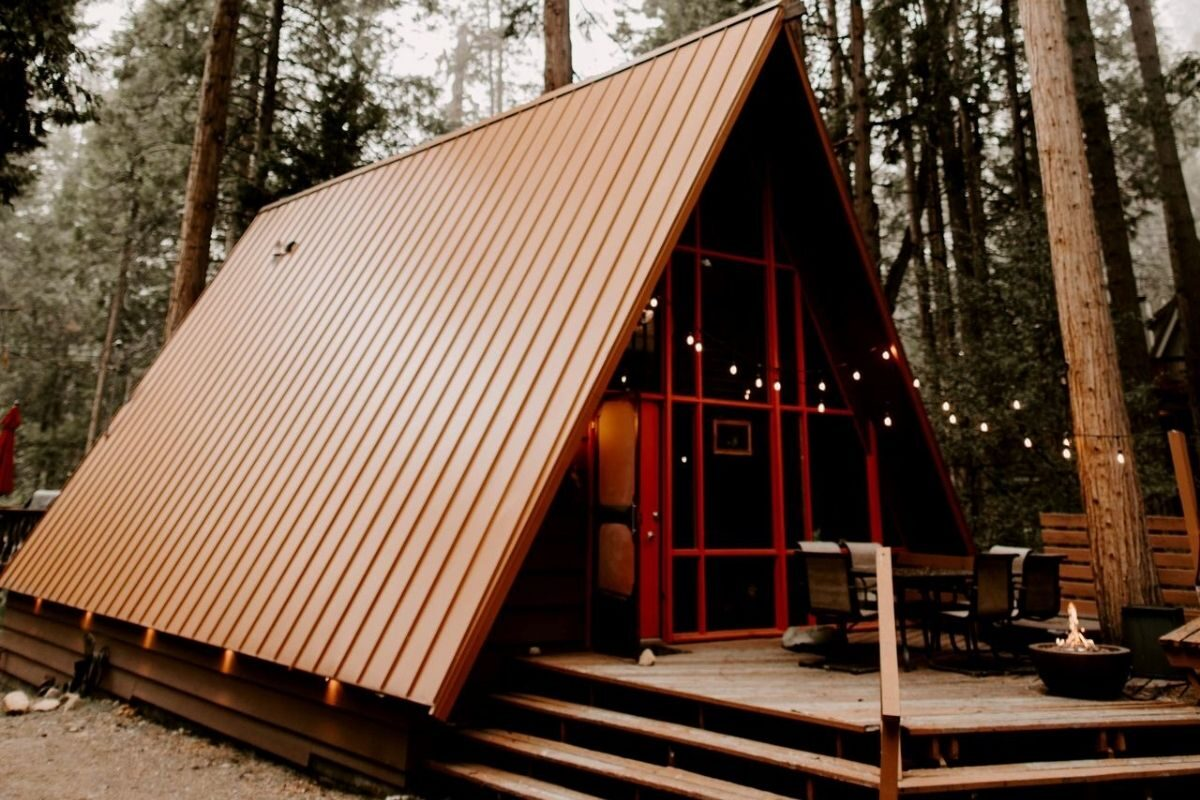 tipos de telhado de chalé