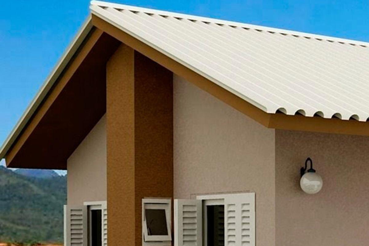 tipos de telhado duas águas
