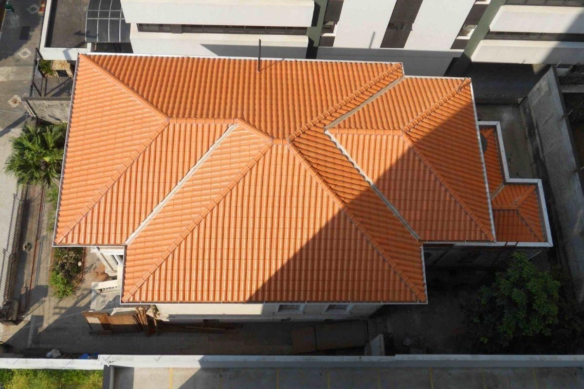 tipos de telhado quatro águas