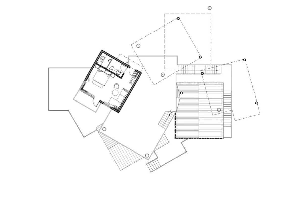 vila de casas na arvore de madeira WH Studio foto 14