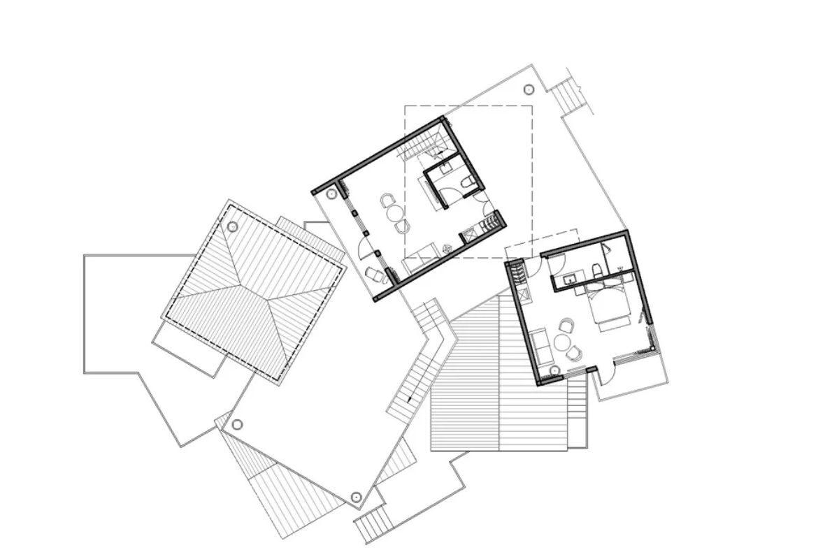 vila de casas na arvore de madeira WH Studio foto 15