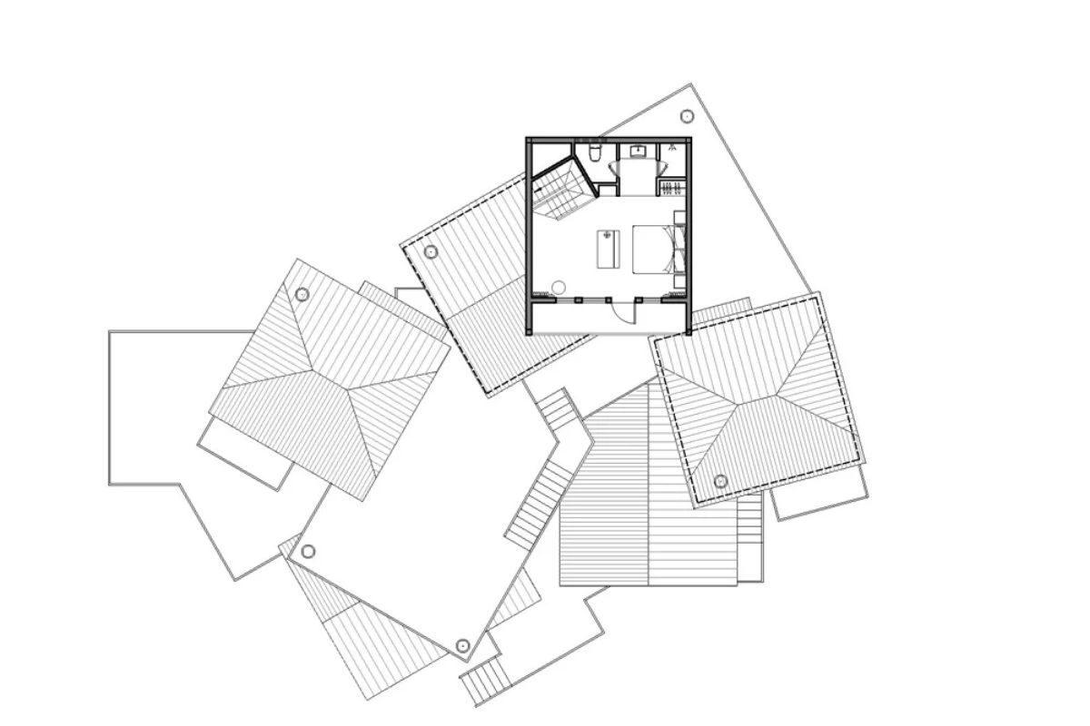 vila de casas na arvore de madeira WH Studio foto 16