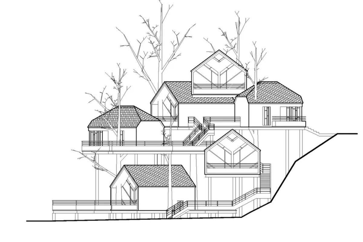 vila de casas na arvore de madeira WH Studio foto 17