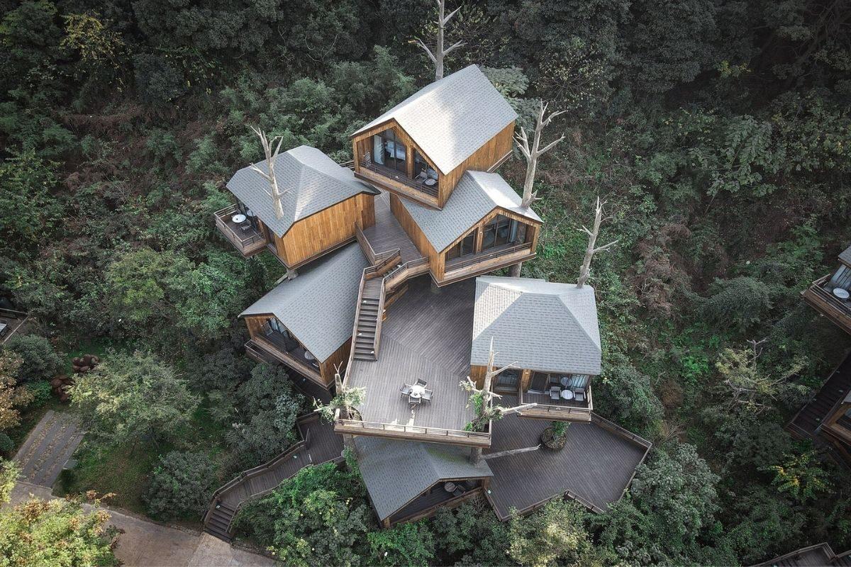 vila de casas na arvore de madeira WH Studio foto 6