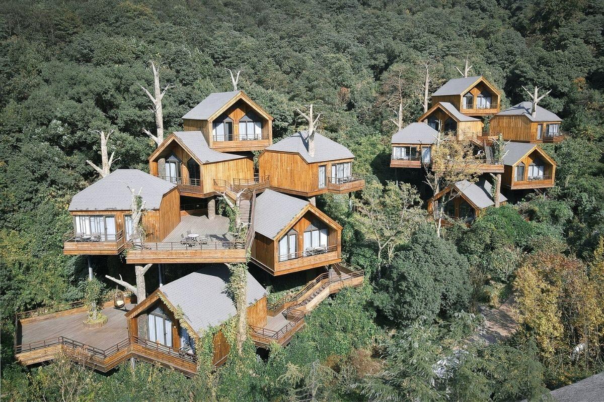 vila de casas na arvore de madeira WH Studio foto 7