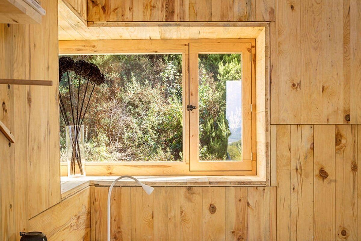 cabana de madeira quarentena voxel iaac foto 4