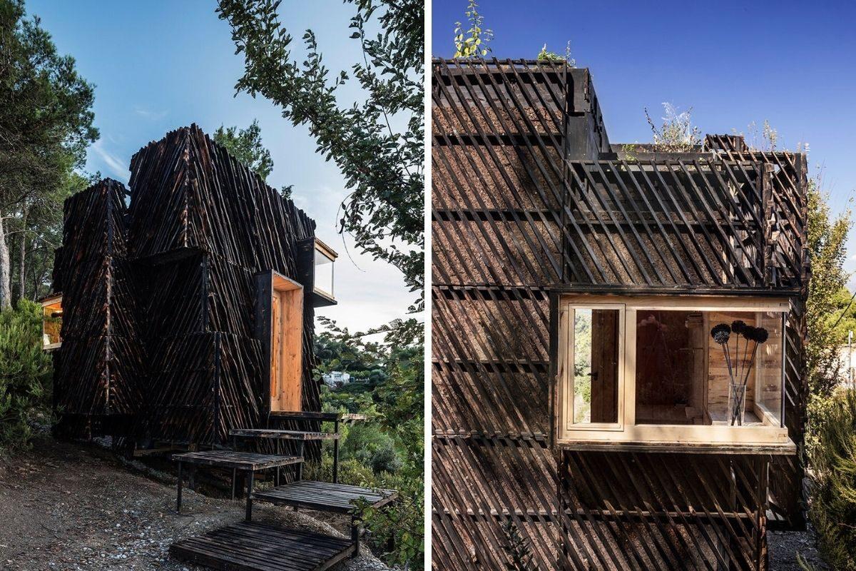 cabana de madeira quarentena voxel iaac foto 9