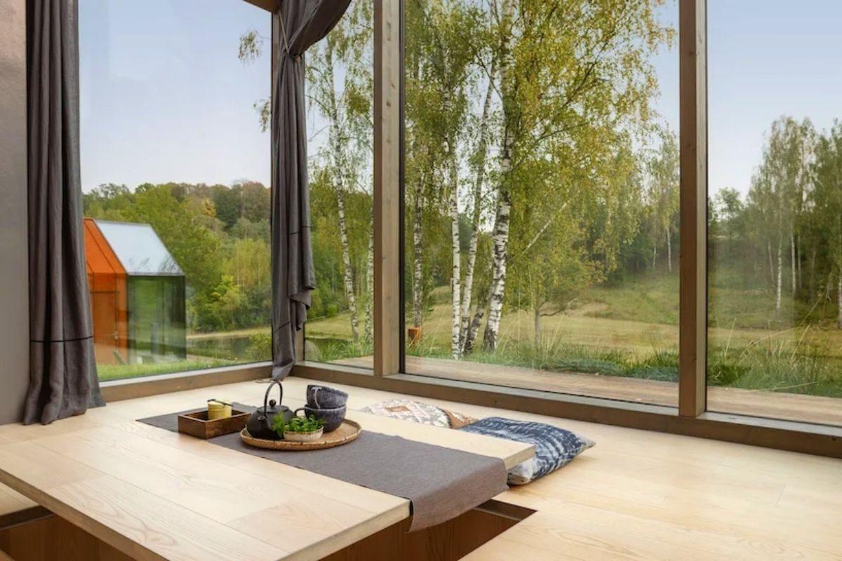 cabanas de metal madeira e vidro open AD foto 2