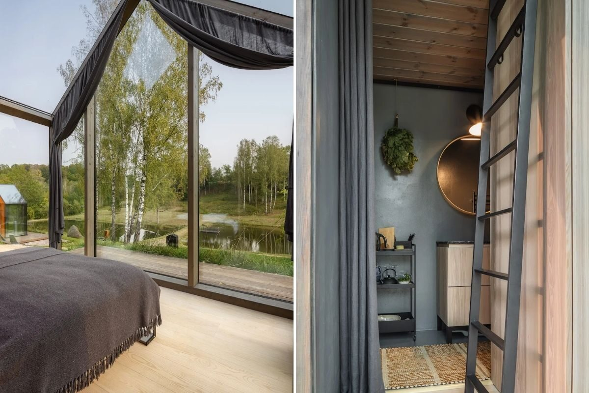 cabanas de metal madeira e vidro open AD foto 6