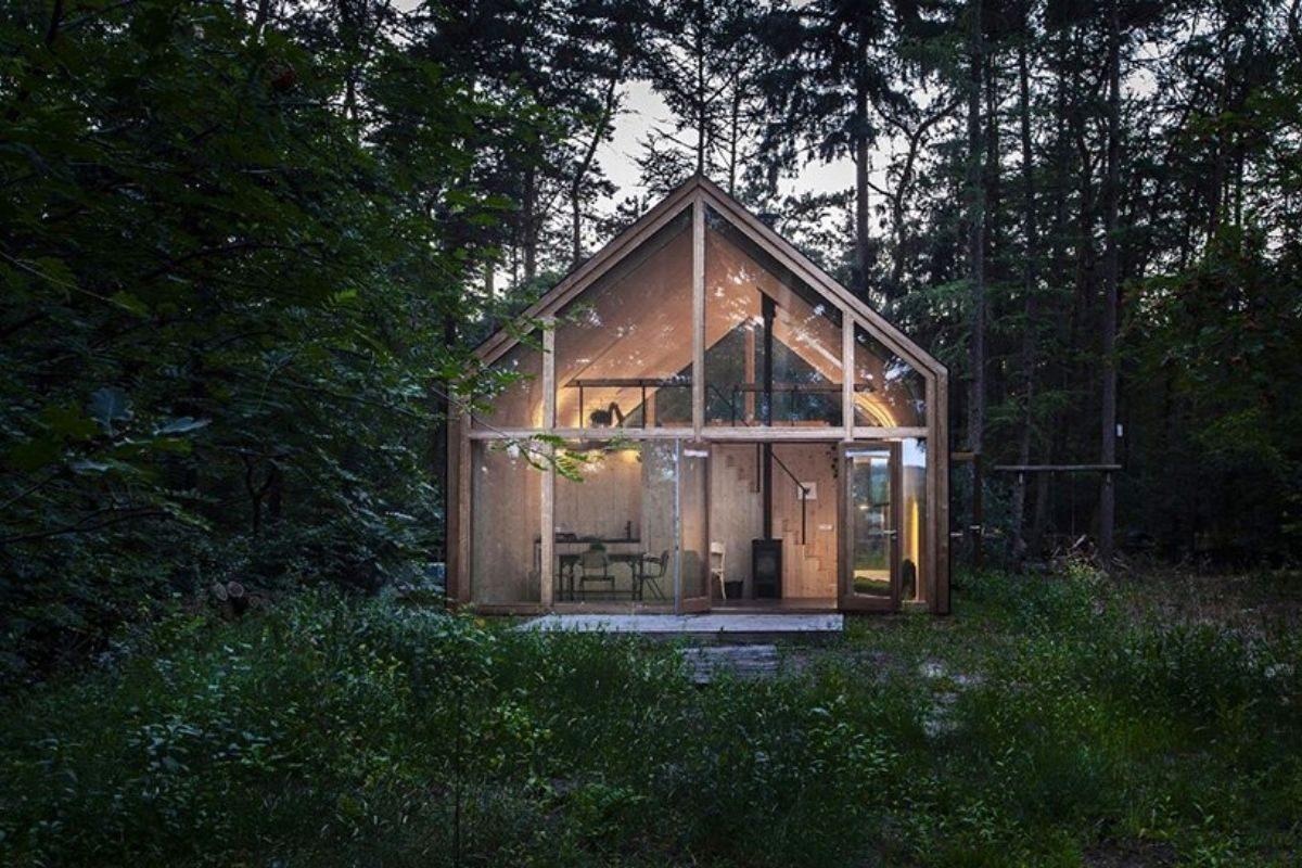 casa de madeira modular sustentável woonpioniers foto 3