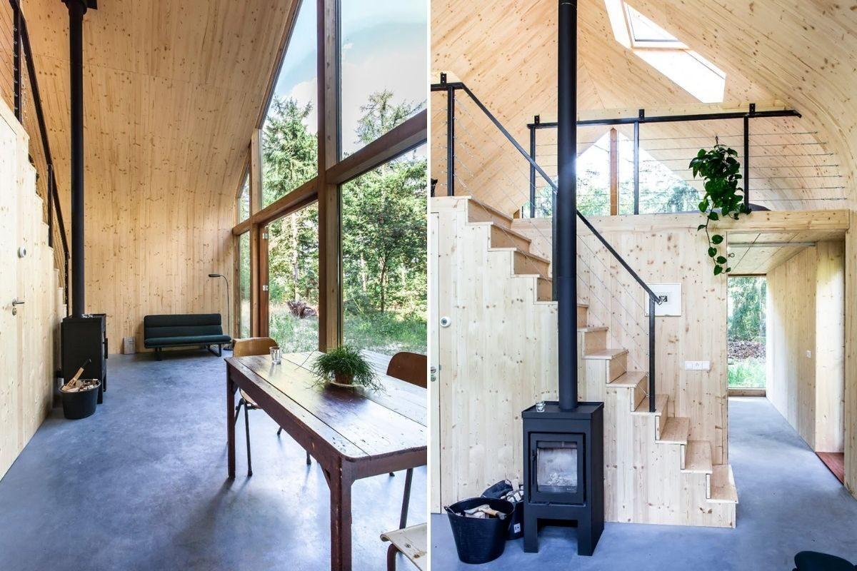 casa de madeira modular sustentável woonpioniers foto 7