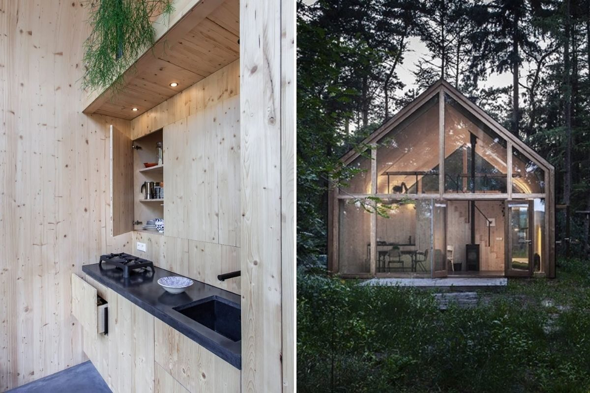 casa de madeira modular sustentável woonpioniers foto 8