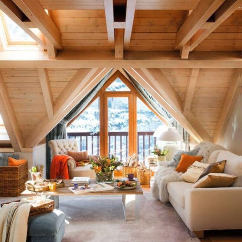 casa de madeira por dentro foto 13