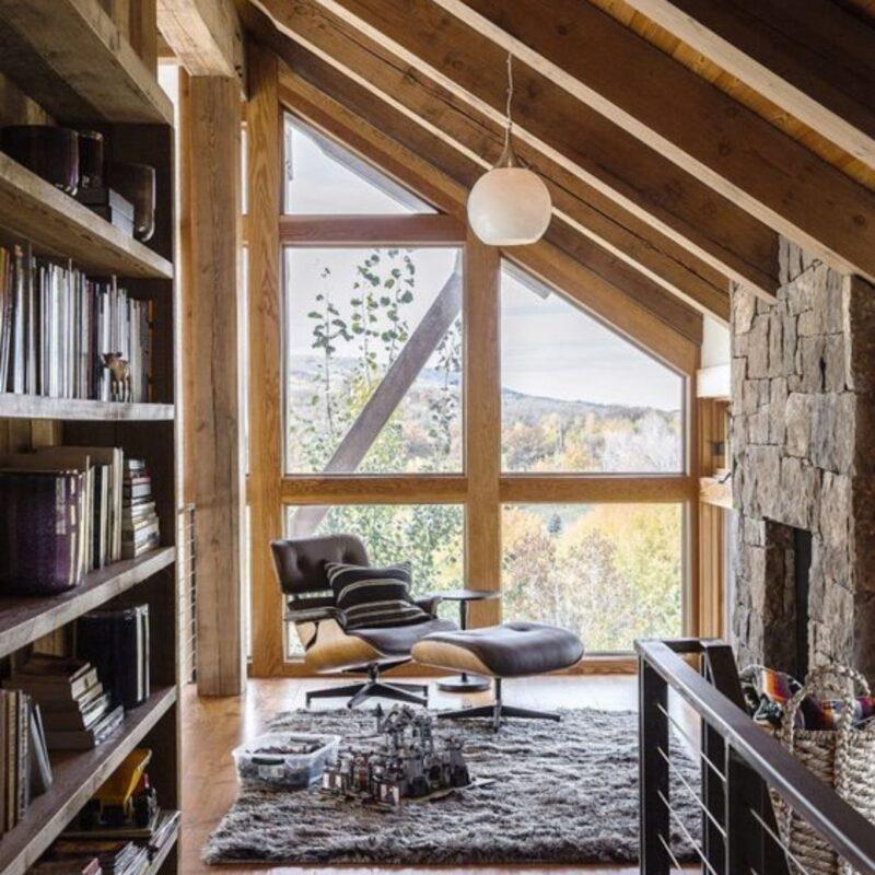 casa de madeira por dentro foto 14