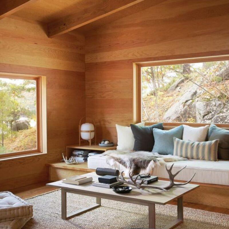 casa de madeira por dentro foto 22