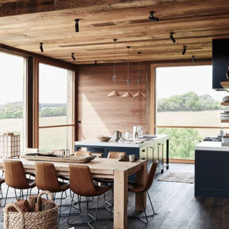 casa de madeira por dentro foto 41