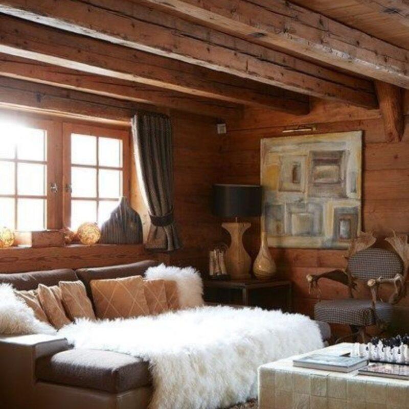 casa de madeira por dentro foto 43