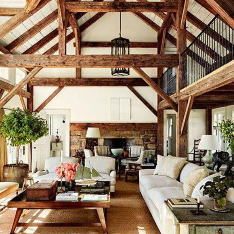casa de madeira por dentro foto 46