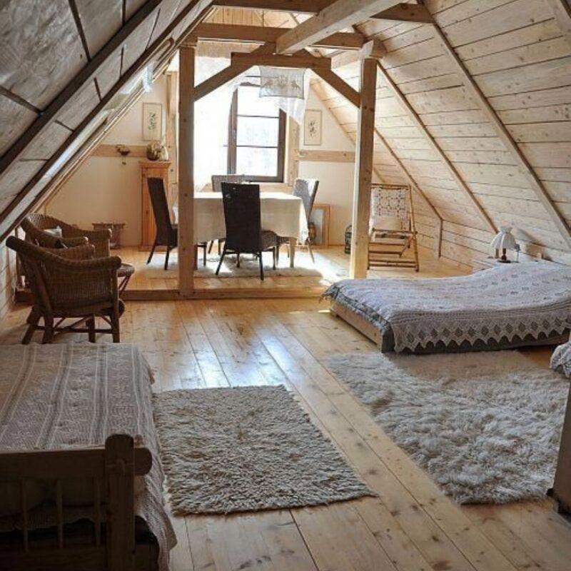 casa de madeira por dentro foto 51