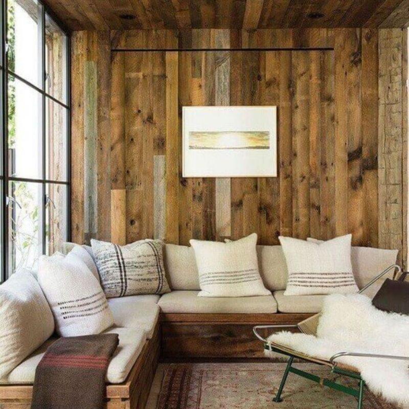 casa de madeira por dentro foto 52