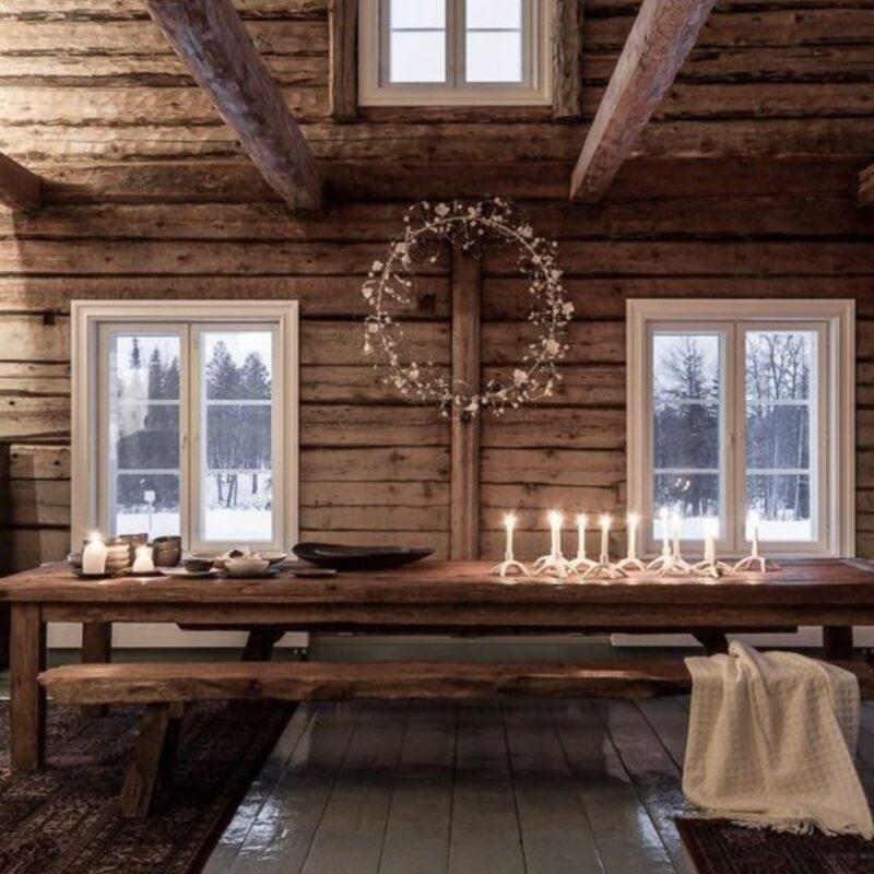 casa de madeira por dentro foto 61
