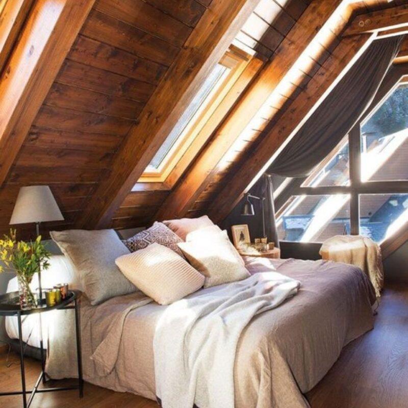 casa de madeira por dentro foto 62