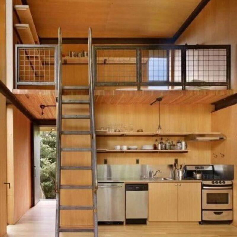 casa de madeira por dentro foto 67