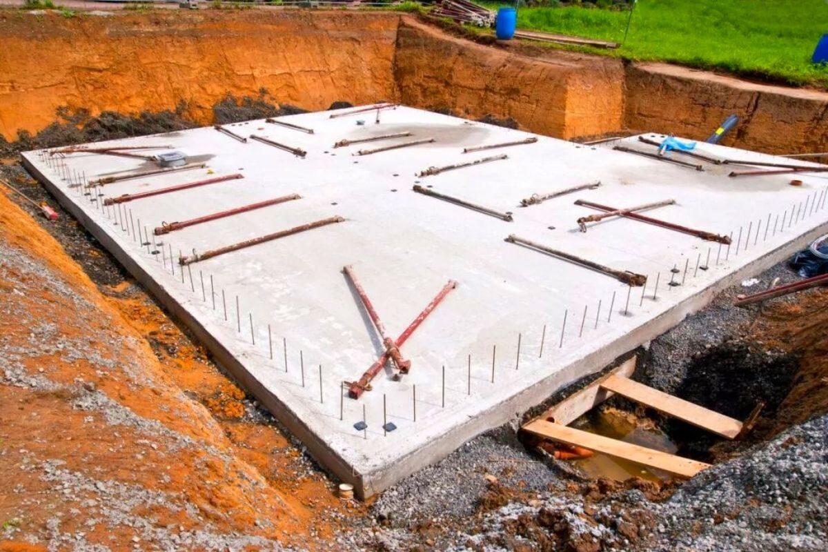 fundação para casas de madeira radier