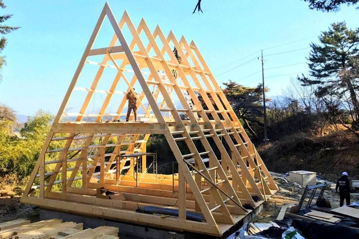 kit casa pré-fabricada chalé