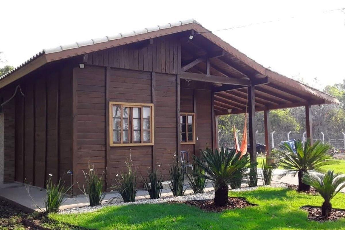 kit casa pré-fabricada simples