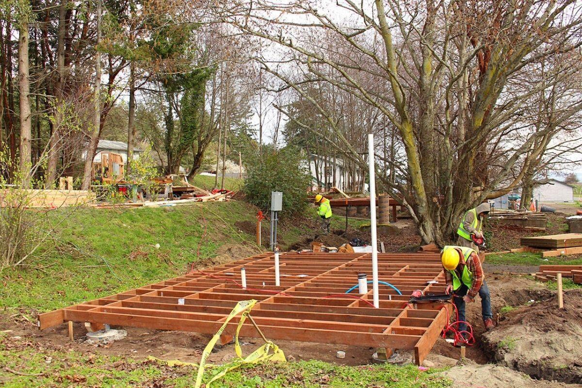 projetos de pousadas pequenas durante construção
